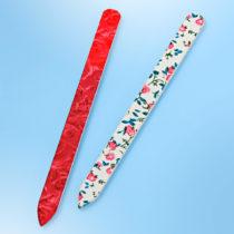 Blancheporte 2 sklenené pilníky, farebné farebné