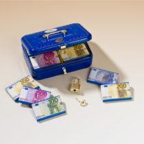 Blancheporte Pokladnička na euro bankovky
