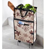 Blancheporte Skladacia nákupná taška s kolieskami