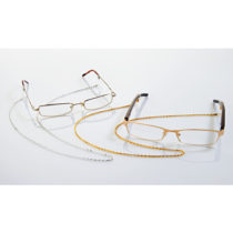 Blancheporte 2 retiazky na okuliare, zlatá + strieborná farba zlatá+strieborná