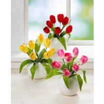 Blancheporte Kytica tulipánov, červená ružová