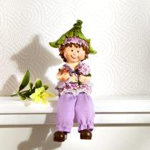 """Blancheporte Dekorácia """"Chlapec s kvetinou"""""""
