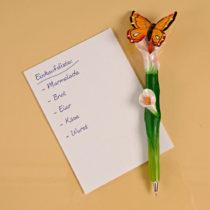 """Blancheporte Guľôčkové pero """"Motýľ"""""""