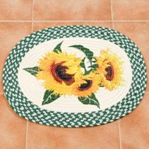 """Blancheporte Kuchynský koberec """"Slnečnice"""", malý 45x55cm"""