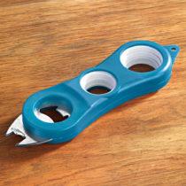 Blancheporte Multifunkčný otvárač 4 v 1, modrá modrá