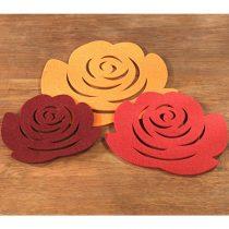 Magnet 3Pagen Podložky Kvety,3ks