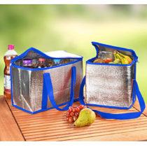 Blancheporte 2 chladiace tašky, modrá