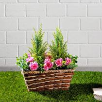 Blancheporte Kôš s umelými kvetmi