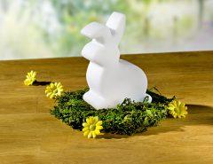 Magnet 3Pagen Svietiaci dekoratívny zajačik