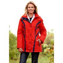 "Blancheporte Funkčná bunda ""Country"", červená-modrá, XXL červená-modrá S"
