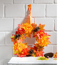 "Blancheporte Jesenný veniec ""Astry"""