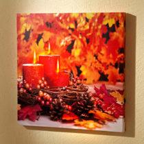 """Blancheporte LED obraz """"Jesenné zátišie"""""""