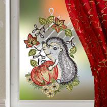 """Blancheporte Okenná dekorácia """"Ježko"""""""
