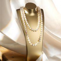 Magnet 3Pagen Perlový náhrdelník biela 120 cm