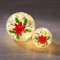 "Blancheporte LED svetlo ""Sklenená guľa"" velké 13,5cm"