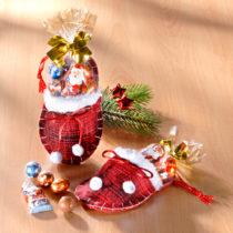 Blancheporte 1 vianočná papuča s cukrovinkami