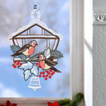 """Blancheporte Okenná dekorácia """"Vtáčia búdka"""""""