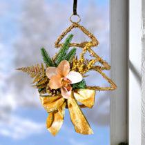 Blancheporte Vianočná ozdoba s orchideou