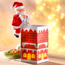 Blancheporte Santa Claus na komíne