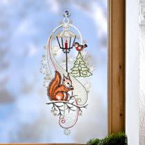 """Blancheporte Okenná dekorácia """"Veverička"""""""