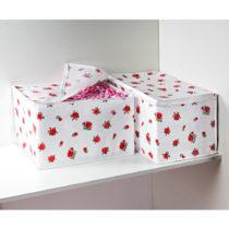 """Blancheporte 2 úložné boxy """"Ruže"""""""