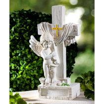 """Blancheporte Dekorácia hrobu """"Anjel s krížom"""""""