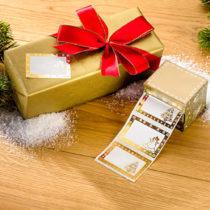 Blancheporte 40 vianočných nálepiek na darčeky