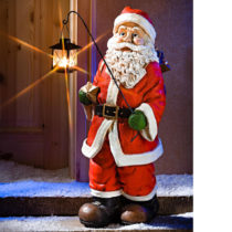 Blancheporte XXL Santa Claus s lampášom