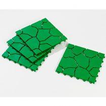Magnet 3Pagen 4 dlaždice, zelená