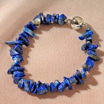 "Magnet 3Pagen Náramok ""Lapis lazuli"" 19cm dlžka"