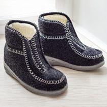 Magnet 3Pagen Domáca obuv, čierna 36