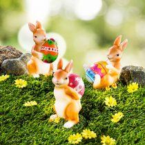 """Magnet 3Pagen Solárna dekorácia """"Zajačiky s vajíčkami"""""""