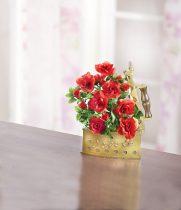 Magnet 3Pagen Dekorácia ruží v žehličke