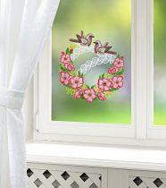 """Magnet 3Pagen Okenná dekorácia """"Vtáčia svadba"""""""