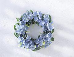Magnet 3Pagen Kvetinový veniec Modré kvety