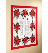 Magnet 3Pagen Kalendár - utierka, červená