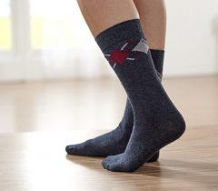 Magnet 3Pagen 10 párov dámskych ponožiek antracitová 35-38