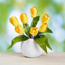 Magnet 3Pagen Kytica tulipánov, lila žltá