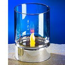 Magnet 3Pagen LED sviečka strieborná