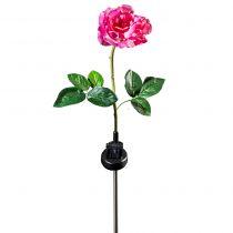 """Magnet 3Pagen Solárne svetlo """"Ruža"""", ružová-biela"""