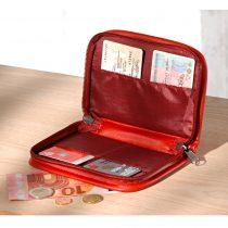 Magnet 3Pagen Kožená peňaženka, čierna 19x11cm