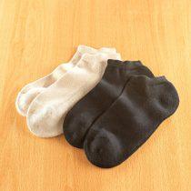 Magnet 3Pagen 2 páry športových ponožiek pre pánov, čierna + béžová čierna-béžová 39/42 dámské