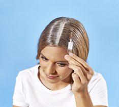 Magnet 3Pagen Riasenka na vlasy 2 v 1, hnedá
