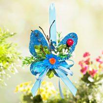 Magnet 3Pagen Motýľ sisal, modrá