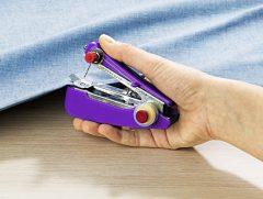 Magnet 3Pagen Ručný šijací stroj, fialová