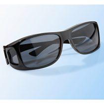 Magnet 3Pagen Slnečné okuliare do auta, hnedá čierna