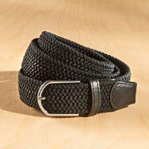 Magnet 3Pagen 2 elastické opasky, čierna + čierna/biela čierna-biela
