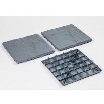 Magnet 3Pagen záhradné dlaždice, bridlicovo sivá bridlicová sivá
