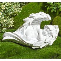 "Magnet 3Pagen Dekorácia na hrob ""Anjel na lôžku z krídel"""