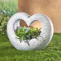 """Magnet 3Pagen Dekorácia na hrob """"Kvetinové srdce"""""""
